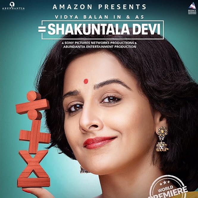 Vidya Balan in Shakuntala Devi: Human Computer (2020)