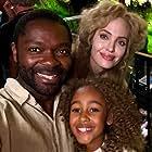 Angelina Jolie, David Oyelowo, and Keira Chansa in Come Away (2020)