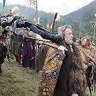 John Hurt and Jack Huston in Outlander (2008)