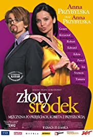 Zloty srodek Poster