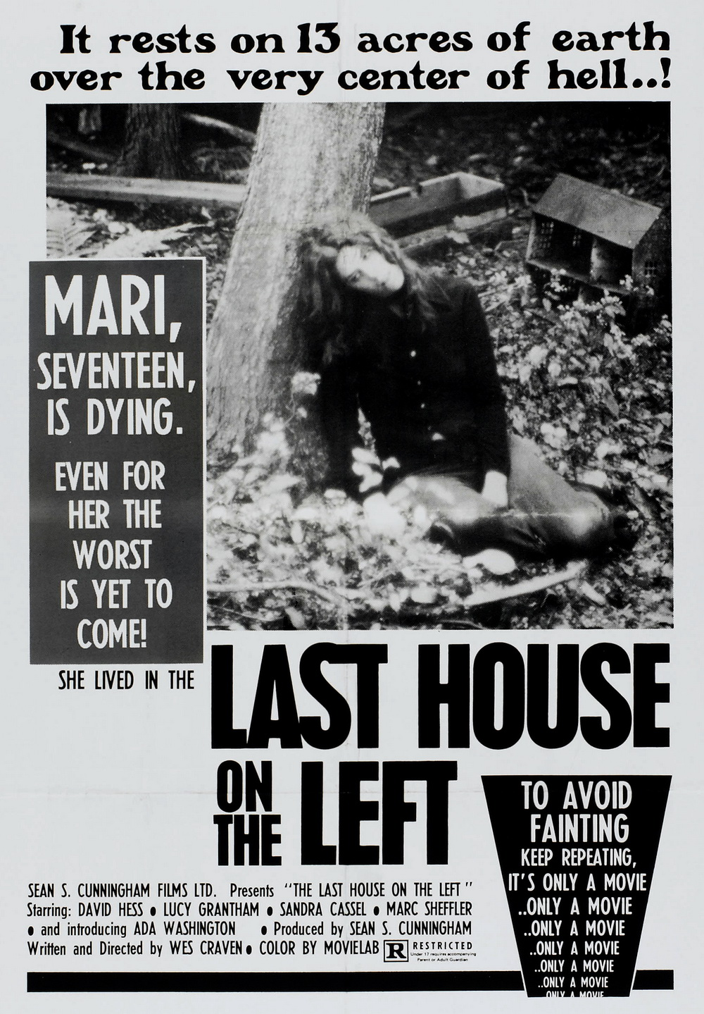 Image result for last house on the left movie poster