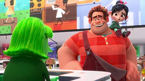 Vanellope von Schweetz and Wreck-It Ralph leave the arcade world behind to explore the uncharted and thrilling world of the internet. On a quest to save Vanellope's racing game, how will these two misfits ever succeed in this vast new world?