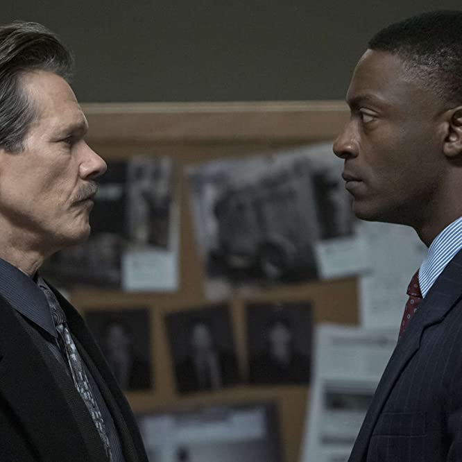 Kevin Bacon and Aldis Hodge in City on a Hill (2019)