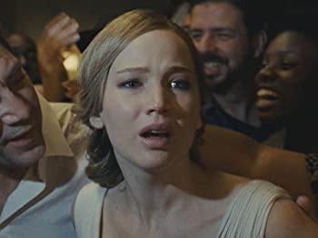 Javier Bardem and Jennifer Lawrence in Mother! (2017)