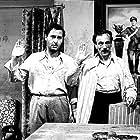 Eduardo De Filippo and Alberto Sordi in Tutti a casa (1960)