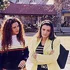 Tanaaz Currim Irani and Ameesha Patel in Kaho Naa... Pyaar Hai (2000)