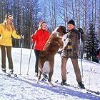 Kathleen Cody, Dean Jones, Nancy Olson, and Johnny Whitaker in Snowball Express (1972)