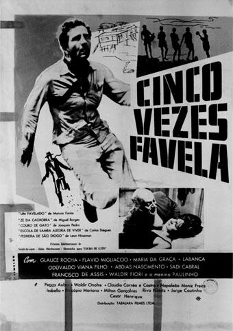 Resultado de imagem para Cinco Vezes Favela