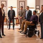 Russell Hornsby, Michael Imperioli, Arielle Kebbel, Tracie Thoms, Ramses Jimenez, and Tate Ellington in Open Warfare (2020)