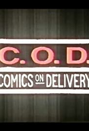 Comics on Delivery Poster