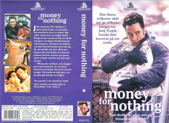John Cusack in Money for Nothing (1993)