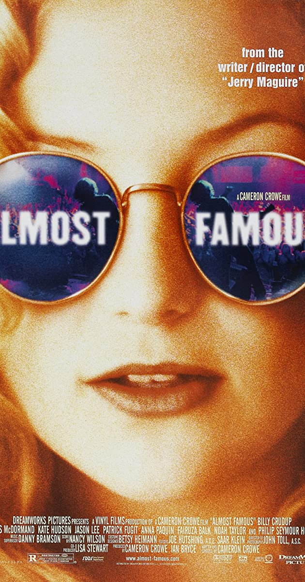 Subtitle of Almost Famous