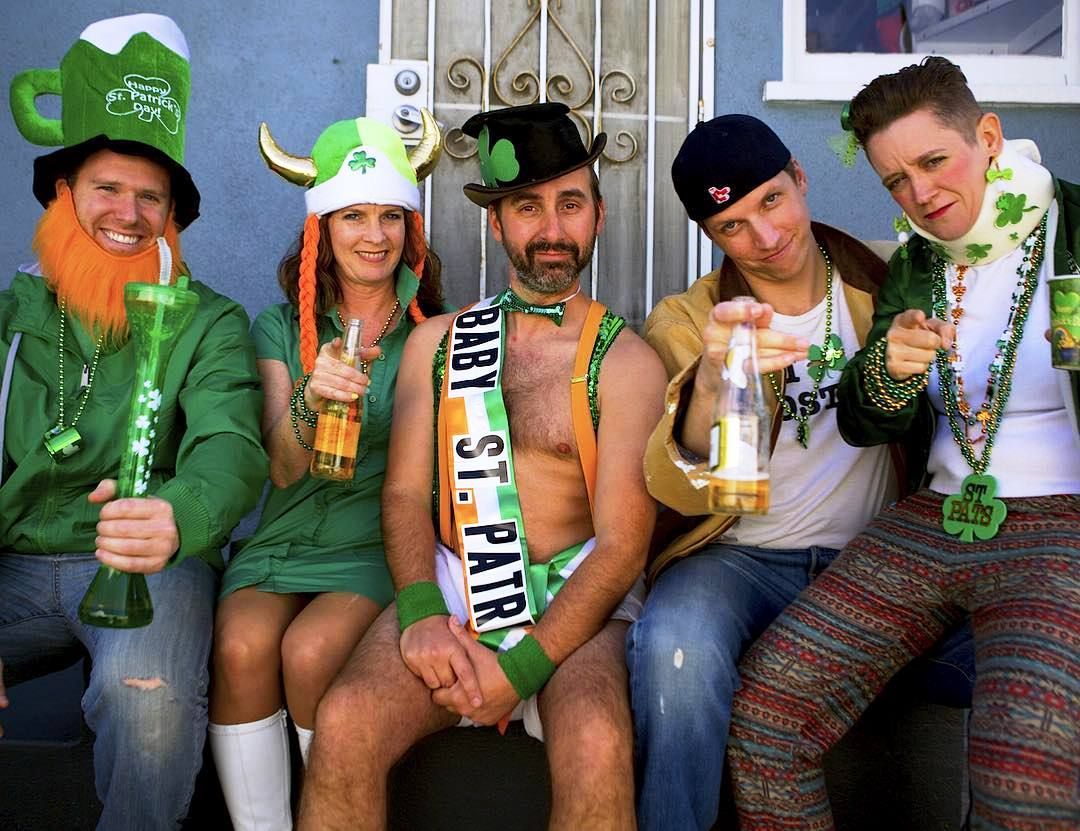 Baby St Patrick video promo photo, from Side Effects Improv