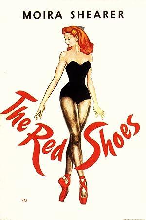 Las zapatillas rojas Cartel de la película