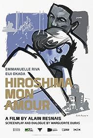 Eiji Okada and Emmanuelle Riva in Hiroshima mon amour (1959)