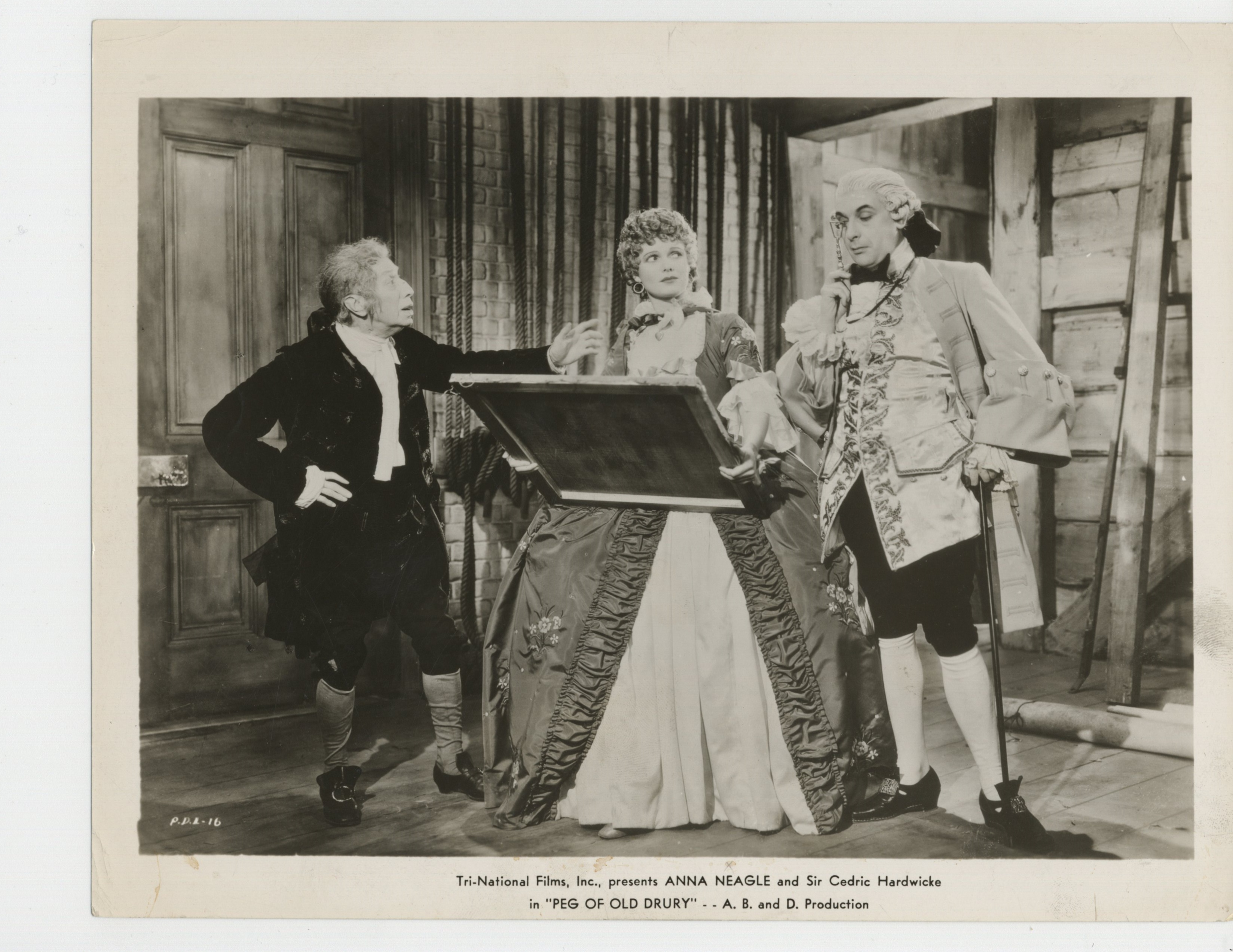 Cedric Hardwicke and Anna Neagle in Peg of Old Drury (1935)
