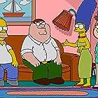 Julie Kavner, Alex Borstein, Dan Castellaneta, Tom Kenny, and Seth MacFarlane in Family Guy (1999)