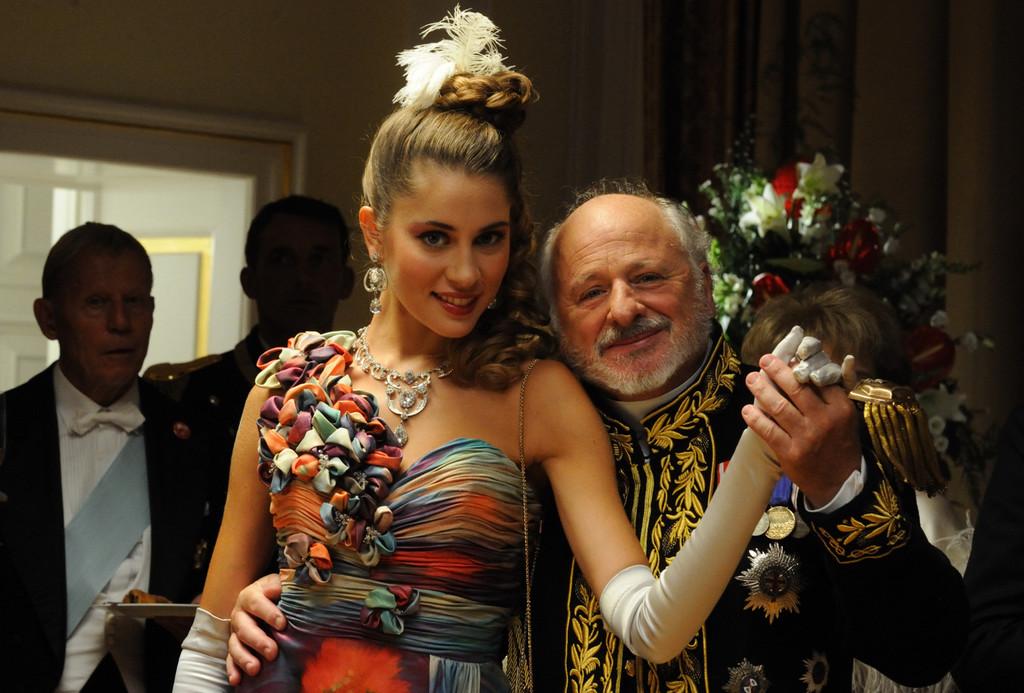Marco Messeri and Benedetta Piscitelli in Il principe abusivo (2013)