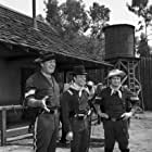 Ken Berry, Larry Storch, and Forrest Tucker in F Troop (1965)