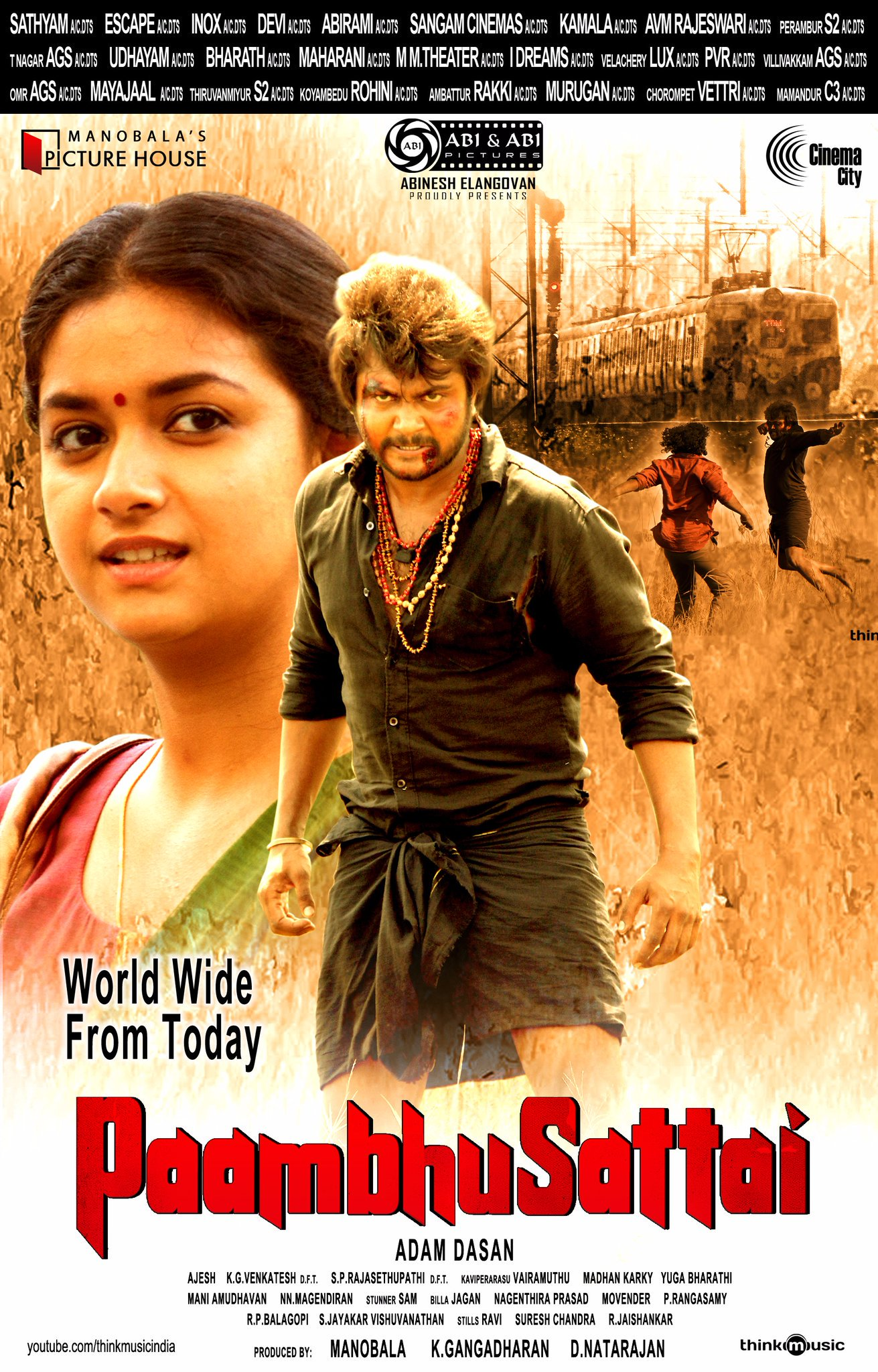 Paambhu Sattai 2020 Hindi Dubbed 400MB UNCUT HDRip 480p Free Download