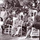 Jeff Goldblum, Kevin Kline, Tom Berenger, Glenn Close, William Hurt, Meg Tilly, JoBeth Williams, and Mary Kay Place in The Big Chill (1983)