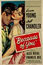 Because of You (1952) Poster