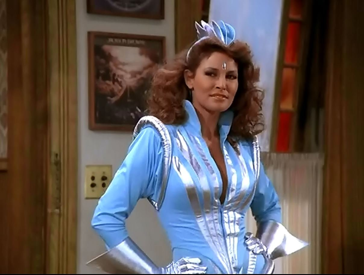 Image result for raquel welch as captain nirvana