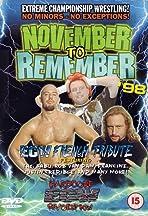 ECW November to Remember 1998