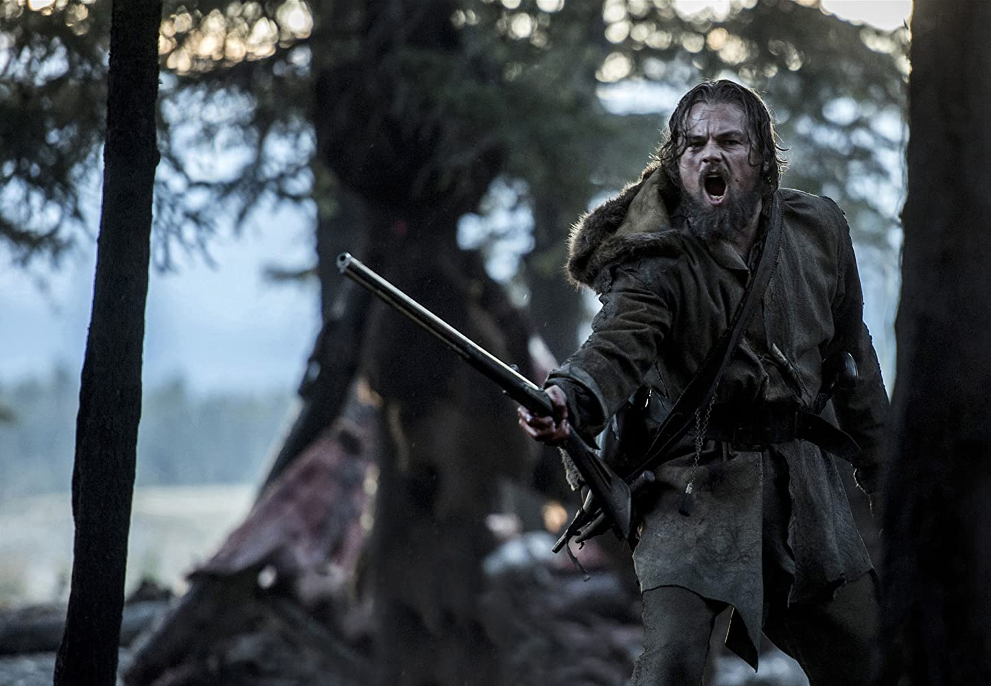 Leonardo DiCaprio in The Revenant (2015)