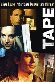 Ethan Hawke, Uma Thurman, and Robert Sean Leonard in Tape (2001)