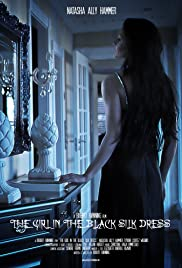 The Girl in the Black Silk Dress Poster