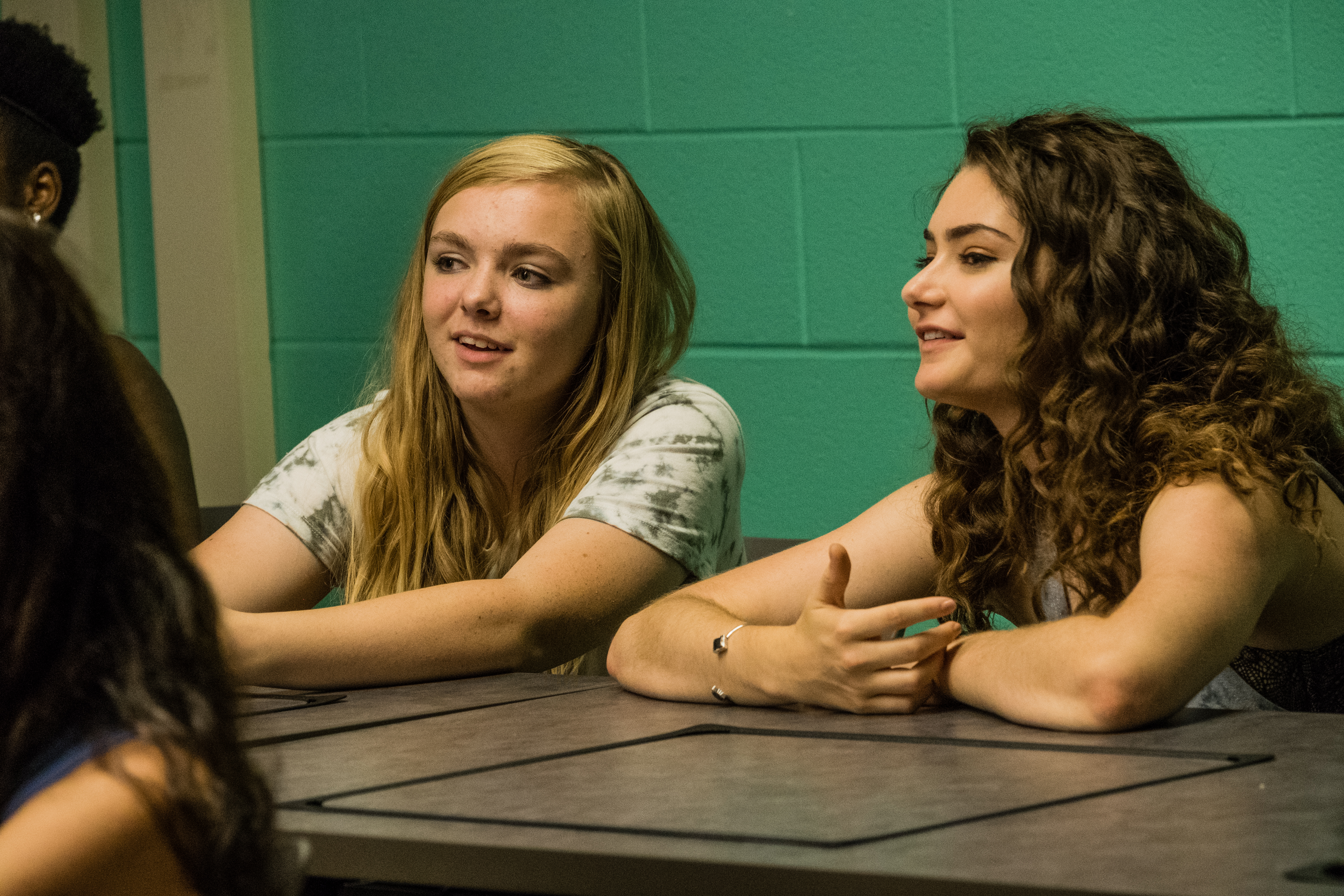 Emily Robinson and Elsie Fisher in Eighth Grade (2018)
