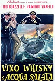 Wine, Whiskey and Salt Water Poster