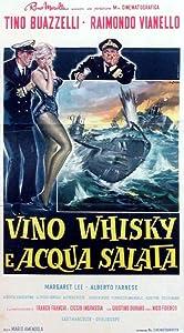 Vino, whisky e acqua salata none