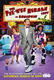 The Pee-Wee Herman Show on Broadway Poster