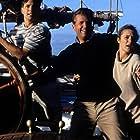 Jeff Bridges, Caroline Goodall, and Scott Wolf in White Squall (1996)
