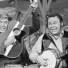 Roy Clark and Buck Owens in Hee Haw (1969)