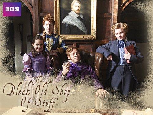 Robert Webb and Katherine Parkinson in The Bleak Old Shop of Stuff (2011)