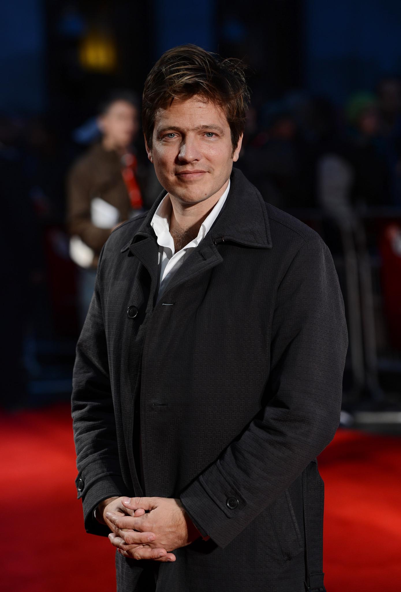 Thomas Vinterberg at an event for Jagten (2012)