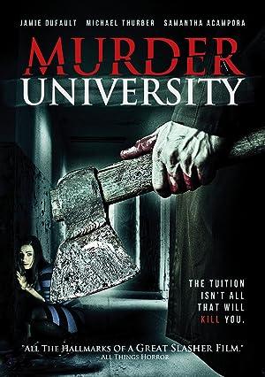 Where to stream Murder University
