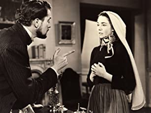 Vincent Price and Jennifer Jones in The Song of Bernadette (1943)