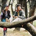 Josh Hutcherson and AnnaSophia Robb in Bridge to Terabithia (2007)