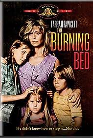 Farrah Fawcett, Christa Denton, Elizabeth Lyn Fraser, and David Friedman in The Burning Bed (1984)
