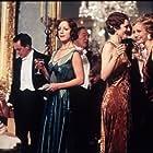 Kristin Scott Thomas, Michael Gambon, Claudie Blakley, Tom Hollander, Geraldine Somerville, and Natasha Wightman in Gosford Park (2001)