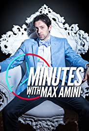 Minutes with Max Amini Poster