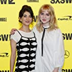 Sheila Vand and Sophie Thatcher at an event for Prospect (2018)
