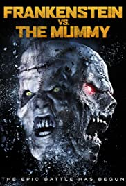 Frankenstein vs. The Mummy Poster