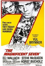 The Magnificent Seven (1960) Poster - Movie Forum, Cast, Reviews