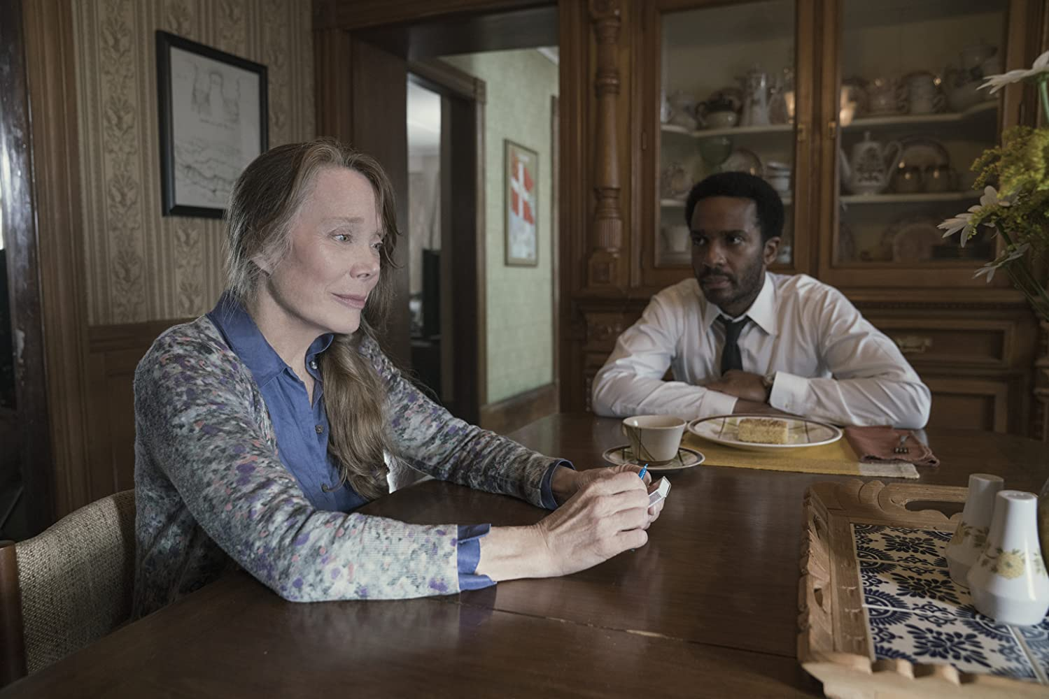 Sissy Spacek and André Holland in Castle Rock (2018)