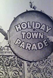 Holiday Town Parade Poster